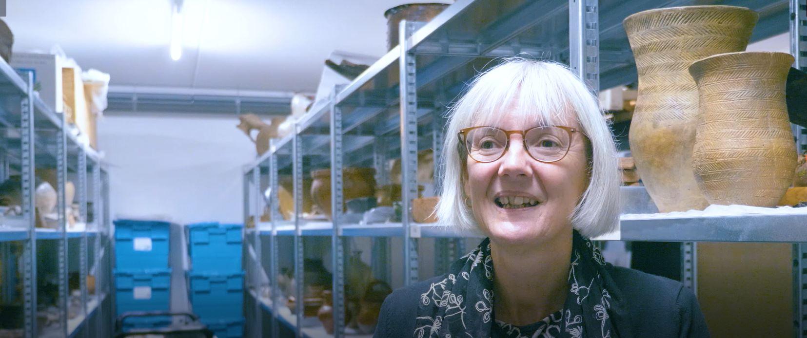 Gerrie Besselsen registreert collecties