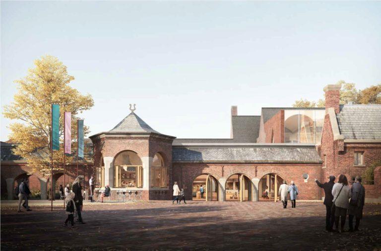 Presentatietekening van het nieuwe schoenenmuseum in Waalwijk. Bron: nieuwe schoenenmuseum Waalwijk